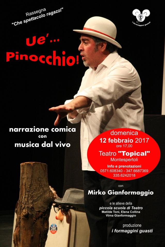 locandina Ue'... Pinocchio con DATI